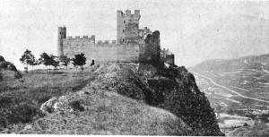 Face est du Château deTourbillon
