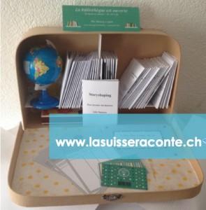 Bibliothèque-valise itinérante : www.lasuisseraconte.ch